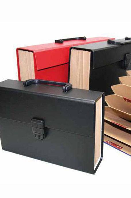 Maletín Tamaño Folio 12 Compartimentos Abecedario XL