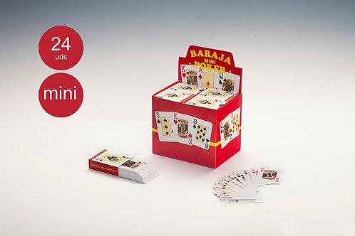 Baraja Poker 'Naipes Mini' (1 Baraja)