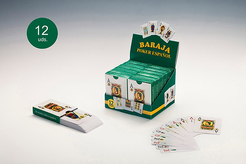 Baraja Póker Español (1 Baraja)