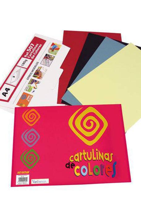 Cartulina De Colores DIN-A4 180 gr