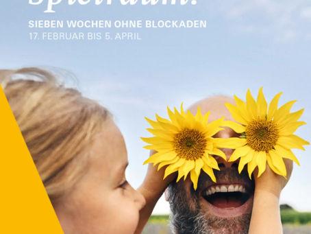 #7WochenOhne Blockaden - Zur Freiheit befreit