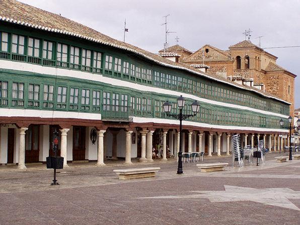 Almagro, Campo de Calatrava, Corral de Comedias, Plaza mayor