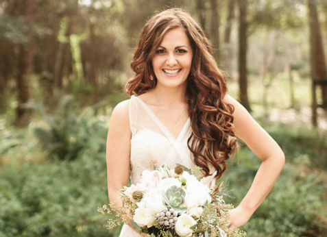 Wedding Airbrush Makeup and Hair Styling