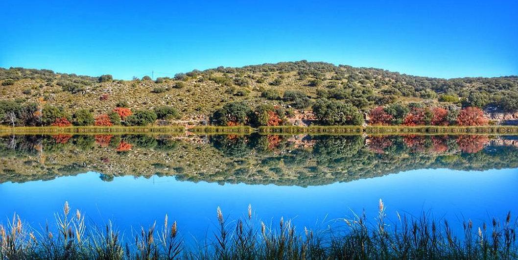 Laguna San Pedro, Lagunas de Ruidera, Ossa de Montiel, Albacete, Ciudad Real, Parque Natural, naturaleza