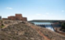 Castillo de Peña Arroya, Embalse de Peña Arroya, Pantano de Peña Arroya, Guadiana