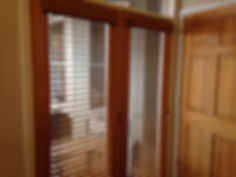 "2"" Real Wood Plantation Blinds-Stained Finish-Monteagle TN"