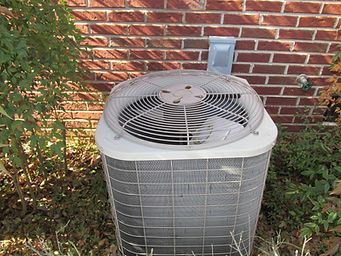 This Home Inspection was performed in Monteagle, TN.  The exterior HVAC coils were frozen over due to a bad fan motor.