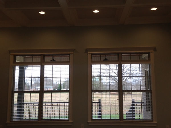 These blinds were installed in a new construction home in Manchester, TN.