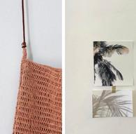 lia JOY, handmade organic bags, summer