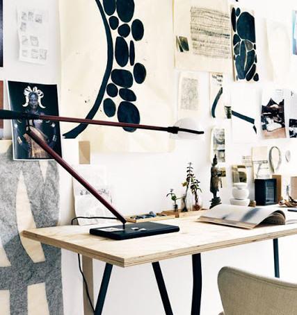 H O M E - I N T E R I O R : Fashion designer's home.