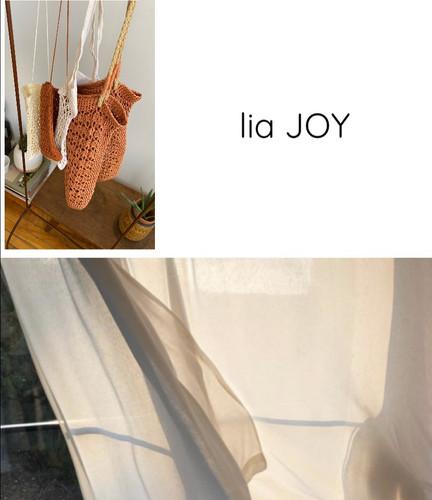 lia JOY, slow fashion, bags