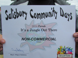 SALISBURY COMMUNITY DAYS TWO FULL DAYS OF EVENTS FOR ACR!!!