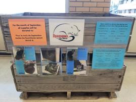 Donation box @ Champlain Mall Dieppe