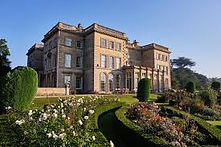 Prestwold Hall from the Garden