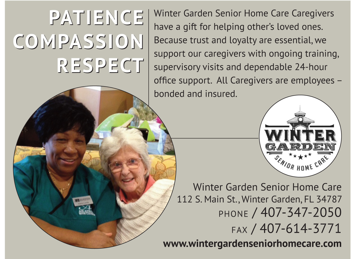 Senior Care in Orlando, FL