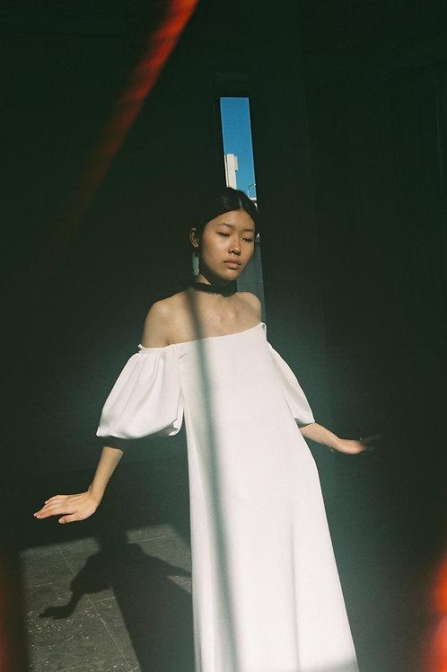 Verona Silk Wedding Gown