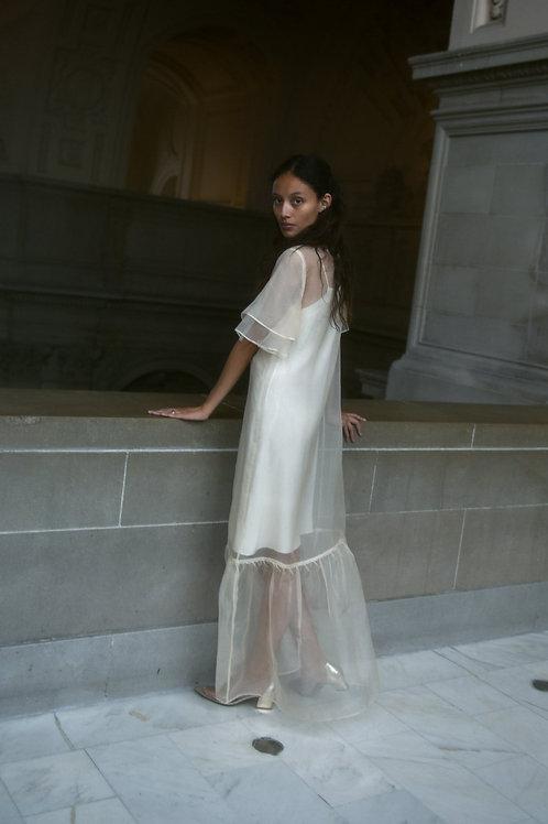 Barre Silk Organza Wedding Dress