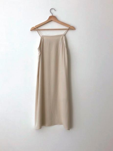 Short Silk Wedding Slip