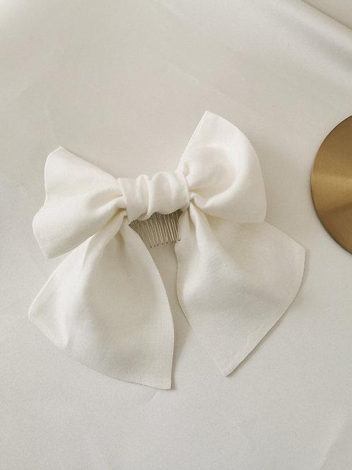 The Irish Linen Bridal Bow