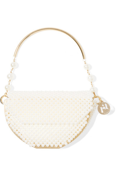 Pearl bag from the label Rosantica makes the perfect accessory for the modern bride.