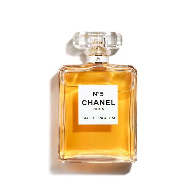 The Iconic Chanel No.5 makes a timeless and classic wedding day scent.
