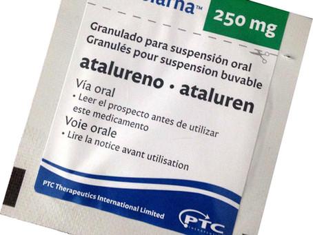 Bula do Translarna™ (atalureno) é atualizada na Europa incluindo pacientes que não andam