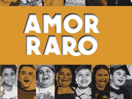 "Personalidades como Carlinhos Brown, Daiane dos Santos e Mario Sergio Cortella, no livro ""Amor Raro"""