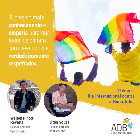 17 de maio, Dia Mundial de Luta contra a Homofobia