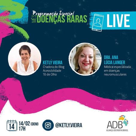 Live: Dia Mundial Doenças Raras