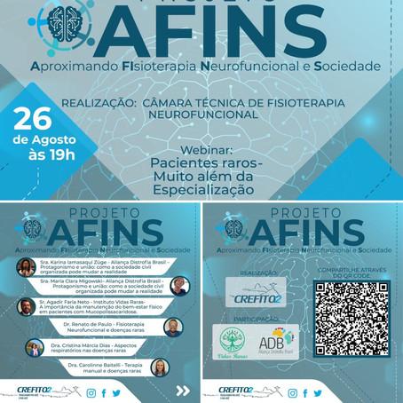Webinar AFINS: Pacientes raros - muito além da especialização