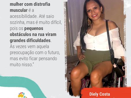 Depoimento: Diely Costa