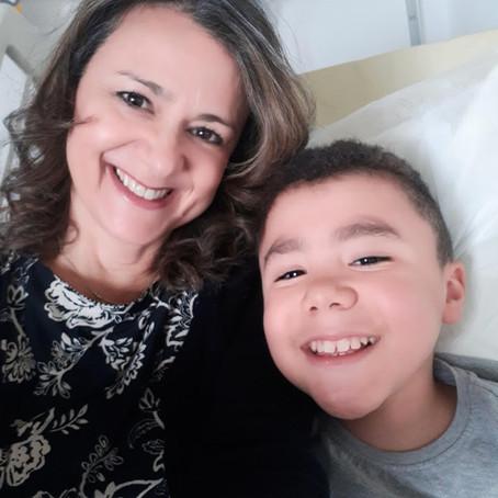 Relato da mãe e pesquisadora Andréa Freire
