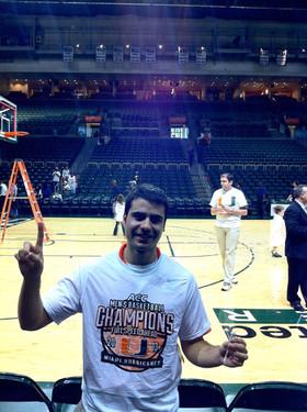 2013 University of Miami - ACC Tournament Champions