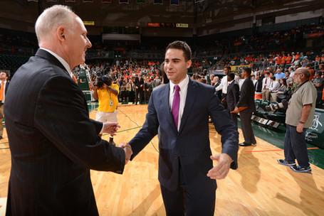Head Team Manager Universidad de Miami. Agradecido a Coach Larrañaga por las oportunidades que me ofrecio y la enseñanza que me brindo