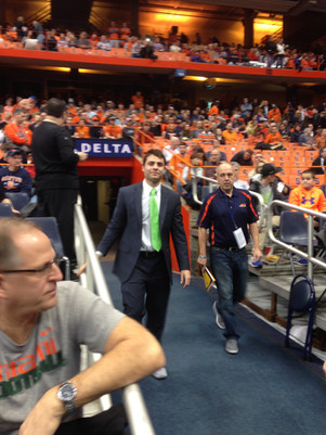 2015 Game at University of Syracuse Carrier Dome