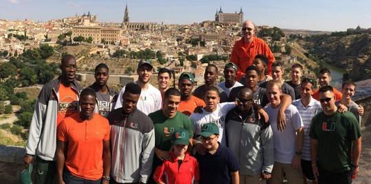 UM Basketball trip to Spain