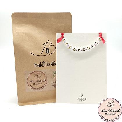 Art Line - Ambachtelijke koffie geschenk - (koffie - kaart)