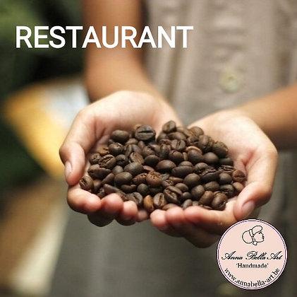 Koffie - RESTAURANT - Ambachtelijke Belgische Bako koffie