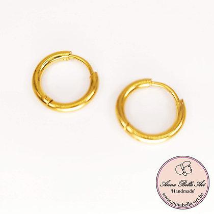 Anna Line kleine sluitringen - goudkleur