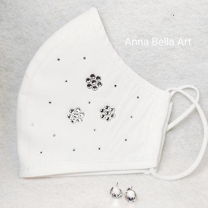 Art Line mondmasker met echte Swarovski - Diamant