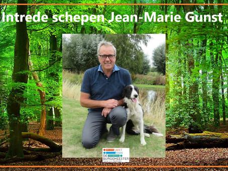Intrede schepen Jean-Marie Gunst !!
