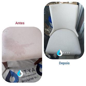 Antes e depois impermeabilização