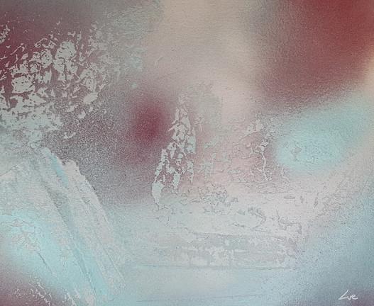 Collection 'Art abstrait d'un nouveau genre' - 2018 -  Peinture sur toile - acrylique, aérosol - 46*38*2 cm