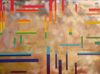 Collection 'Symphonie de couleurs' - 2019  Peinture sur toile -acrylique, aérosol - 160*120*2 cm