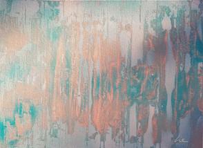 Collection 'Art abstrait d'un nouveau genre' * 2018 Peinture sur carton entoilé - acrylique - 33*24 cm