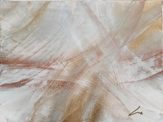 Collection 'Mouvements' - 2019  Peinture sur bois -acrylique, aérosol - 45*35*4 cm