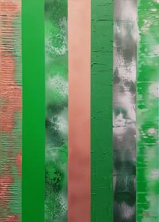 Collection 'Symphonie de couleurs'  Peinture sur toile - 50*70*2cm - acrylique - 2019