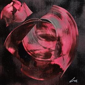 Collection 'Symphonie de couleurs 2' - 2020  Peinture sur bois -acrylique, aérosol - 30*30*4 cm