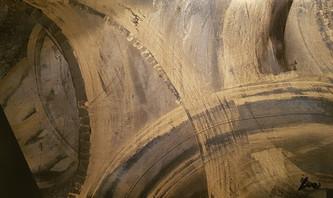 Collection 'Mouvements' - 2019 Peinture sur bois - acrylique, aérosol - 50*30*3cm