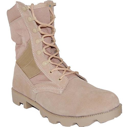 Survivor Men's Leather 8 inch Beige Jungle Boot